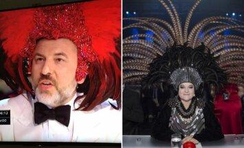 """""""Britains Got Talent"""" teisėjo ir D. Ibelhauptaitės įvaizdis"""