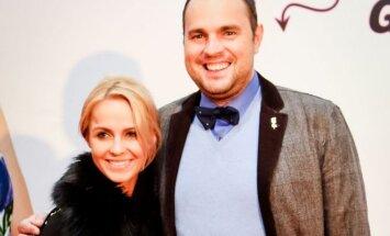 Jogaila Morkūnas su žmona Indre
