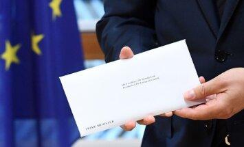 """""""Brexit"""" laiškas"""