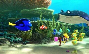 Kadras iš filmo Žuvytė Dori
