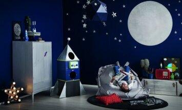3 originalios vaikų kambario interjero idėjos