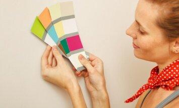 Specialistų gudrybės: kaip išsirinkti ir suderinti spalvas