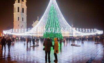 Naujųjų metų sutiktuvės Katedros aikštėje