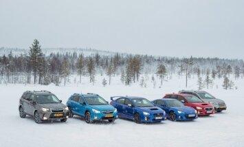 Subaru žurnalistus supažindino su gamintojo naujienomis