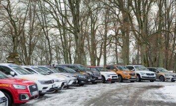 Konkurse dalyvavo 35 automobiliai