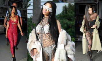 Rihanna, Nicki Minaj, Kim Kardashian