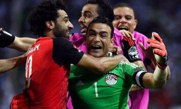 Egipto futbolininkų triumfas