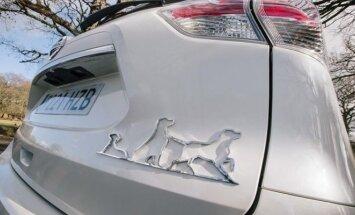 Nissan X-Trail šunų mylėtojams