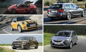 Automobiliai, geriausiai išlaikantys vertę