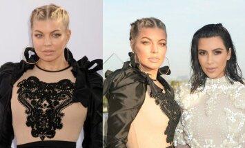 Fergie, Kim Kardashian