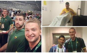 Krepšininkai atvyko į Rio de Žaneirą (Twitter)
