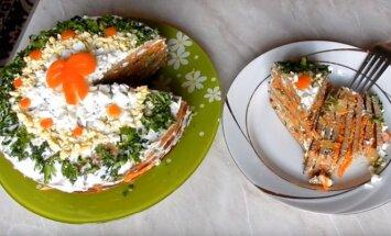 Vištienos kepenėlių tortas