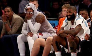 Niujorko Knicks krepšininkai