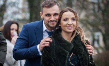 Erikas Rachinšteinas su žmona