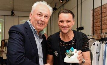 """Žilvinas Grigaitis pristatė savo pirmąją autorinių papuošalų kolekciją """"Ž Jewellery"""""""