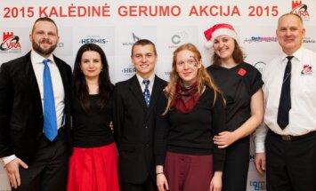 VRA Kalėdų gerumo akcijos organizatoriai