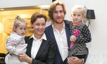 Aistė Jasaitytė-Čeburiak su šeima