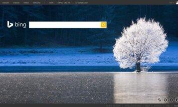 Paieškos variklis Bing (Microsoft iliustr.)