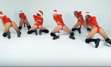 "Kalėdinis ""twerkingas"""