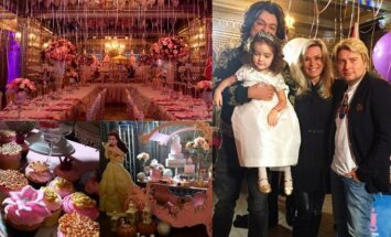 Filipo Kirkorovo dukters Alos Viktorijos 4-ojo gimtadienio puota
