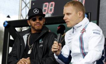 Lewisas Hamiltonas ir Valtteri Bottas