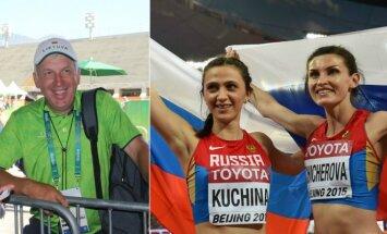 Kęstutis Jezepčikas, Marija Kučina ir Ana Čičerova
