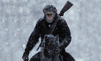 Kadras iš filmo Karas už beždžionių planetą