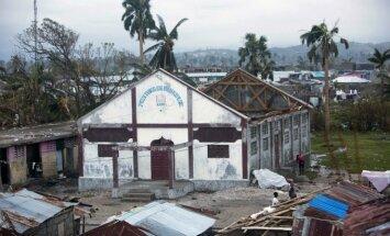 Haitį nusiaubė uraganas Matthew