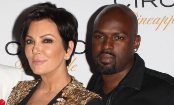 Corey Gamble'as ir Kris Jenner