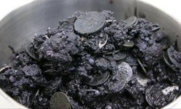 Jūros vėžliui prireikė operacijos – pilve buvo rasta 915 monetų