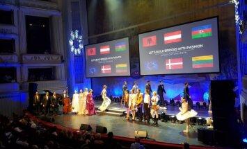 L. Dailidėnienė naujausią kolekciją pristatė Vienos operos teatre