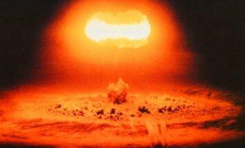 Atominės bombos sprogimas, bandymas 1957 metais