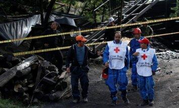 Sprogimas anglių kasykloje Kolumbijoje