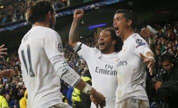 Cristiano Ronaldo, Marcelo ir Garethas Bale'as