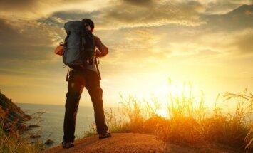 Keliautojas, turistas, kuprinė
