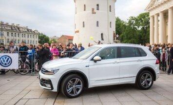 Naujojo Volkswagen Tiguan pristatymas