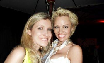 Marija Lama ir Pamela Anderson