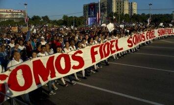 Havanoje revoliucijos metinės paminėtos kariniu paradu