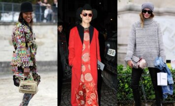 Michelle Elie, Valentino kolekcijos svečias, Nadia Bender