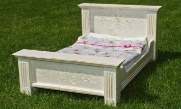 Pasidaryk pats: medinė lėlės lovytė