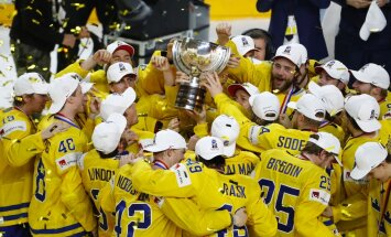 Pasaulio ledo ritulio čempionato finalas: Kanada – Švedija