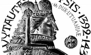 Vytauti Magni, Rex Electus (įrašas ant Vytauto bareljefo Romos šv. Petro bazilikoje, lietuviškoje Aušros vartų Mater misericordiae koplyčioje)