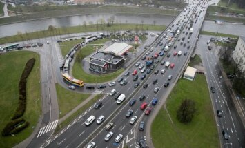 Traffic in Vilnius