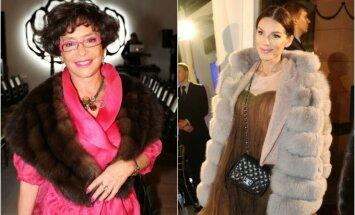 Kailiniai, kuriais puošiasi turtingos Lietuvos ponios