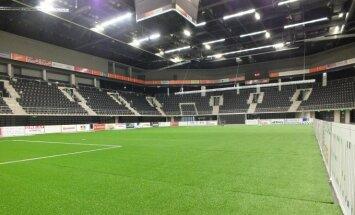 Šiaulių arenoje – futbolo aikštė (Šiaulių arenos nuotr.)