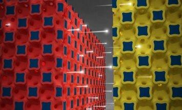 Tarp ličio jonų baterijos mikroelektrodų juda elektronų srautai (Ilinojaus universiteto nuotr.)