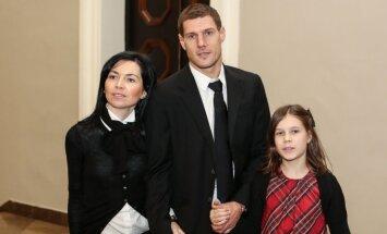 Andrius Velička su šeima