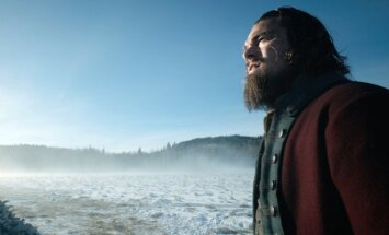 Leonardo DiCaprio filme Hju Glaso legenda (The Revenant)