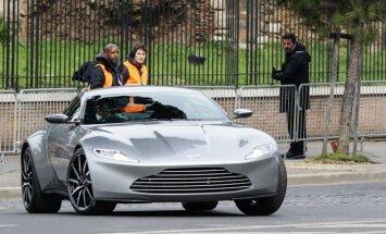 Danielis Craigas ir jo Aston Martin DB10