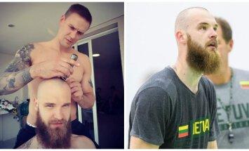 Robertas Javtokas ir Antanas Kavaliauskas (Instagram ir V. Dranginio nuotr.)